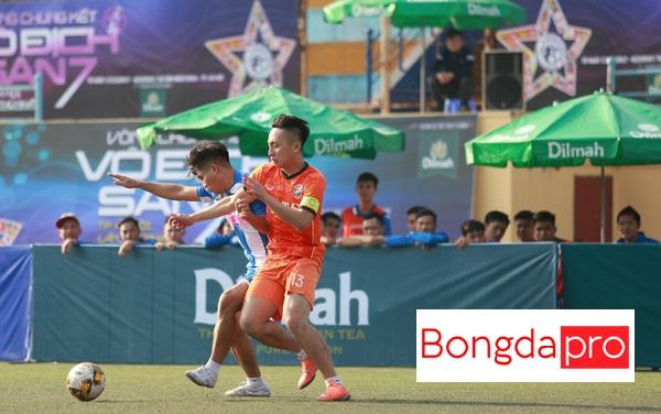 Lịch thi đấu tứ kết VCK bóng đá sân 7 Hà Nội (21/1/2018): DTS vs Moon