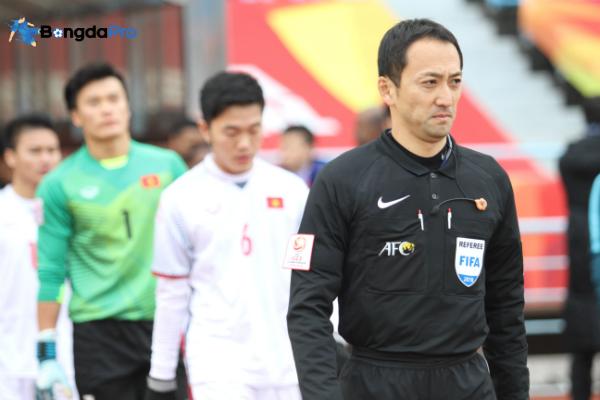 Link Facebook và Baidu trọng tài Ma Ning bắt trận chung kết U23 Việt Nam vs U23 Uzbekistan