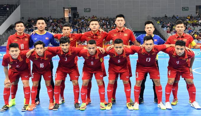 Lịch thi đấu của ĐT Futsal Việt Nam tại VCK Futsal châu Á 2018