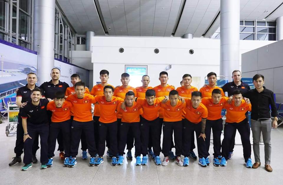 ĐT Futsal Việt Nam chốt danh sách dự VCK Futsal châu Á 2018