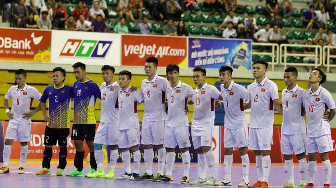 ĐT Futsal Việt Nam đặt mục tiêu khiêm tốn tại VCK Futsal châu Á 2018