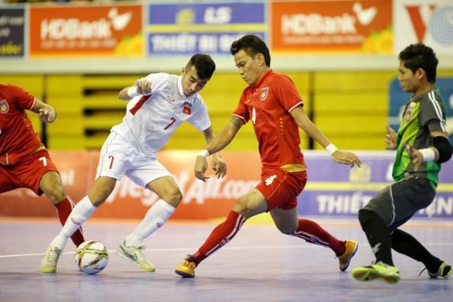 Hôm nay, ĐT Futsal Việt Nam ra quân tại VCK Futsal châu Á 2018