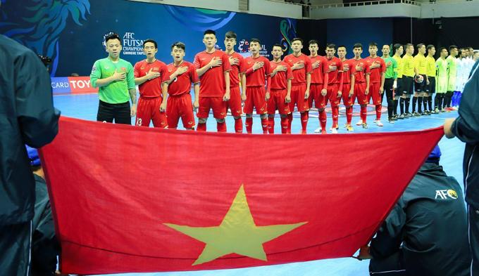 Lịch thi đấu bóng đá Futsal châu Á hôm nay 3/2: Việt Nam vs Bahrain