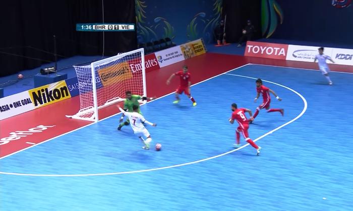 Futsal Việt Nam cần điều kiện gì để vào tứ kết giải châu Á?