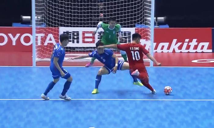 Kết quả giải futsal châu Á ngày 5/2: Việt Nam loại chủ nhà Đài Loan