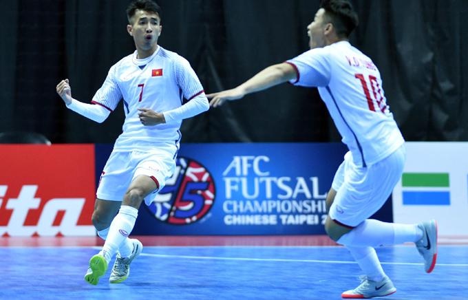 Futsal Việt Nam vào bán kết châu Á 2018: Dự World Cup lần 2?