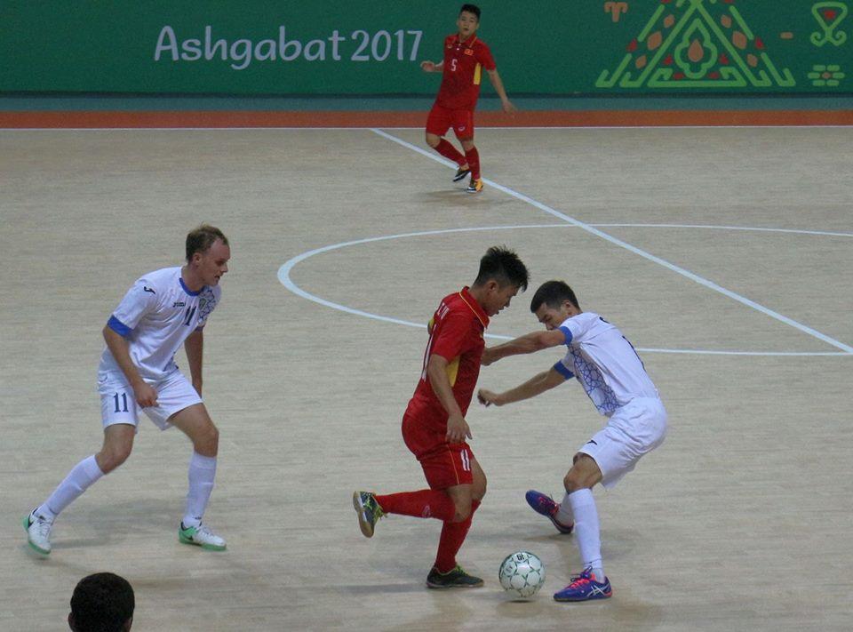 Xem lại video Futsal Việt Nam vs Uzbekistan