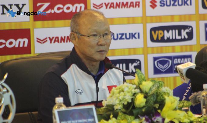 HLV Park Hang Seo chỉ ra giải đấu quan trọng nhất năm 2018 của ĐT Việt Nam