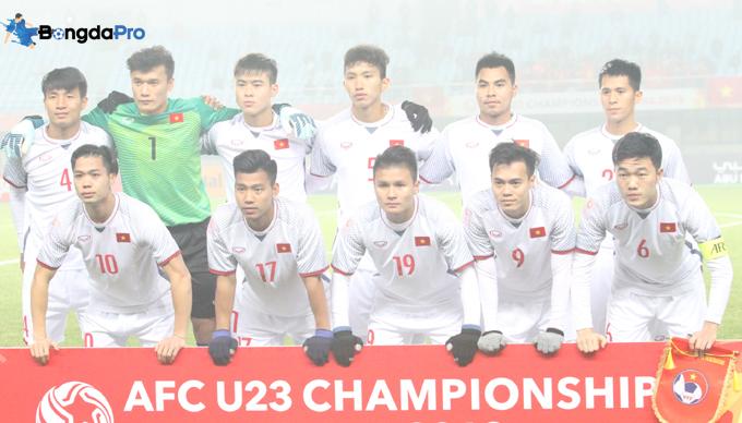 Các tuyển thủ đội U23 Việt Nam đồng loạt 'thử lửa' tại AFC Cup 2018