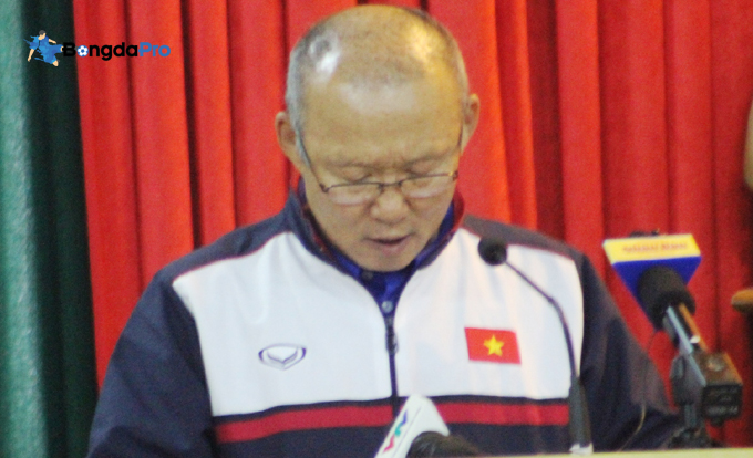 Ấn định thời điểm HLV Park Hang Seo trở lại Việt Nam sau Tết Mậu Tuất