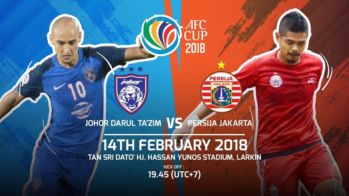 Trực tiếp Johor vs Persija Jakarta (Vòng bảng AFC Cup 2018) trên kênh nào?