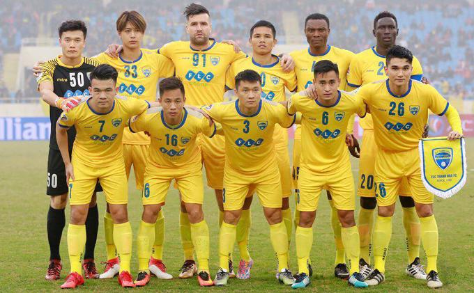 Lịch thi đấu FLC Thanh Hóa đá V-League 2018