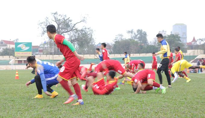 SLNA tổn thất lực lượng nghiêm trọng trước trận tranh Siêu Cúp Việt Nam