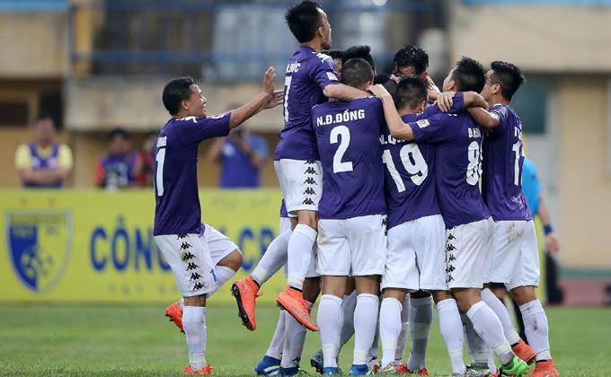 Lịch thi đấu Hà Nội FC đá V-League 2018