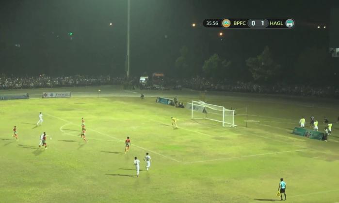 Video bàn thắng Bình Phước vs HAGL: Quân U23 giúp đội bóng phố núi thắng nhàn