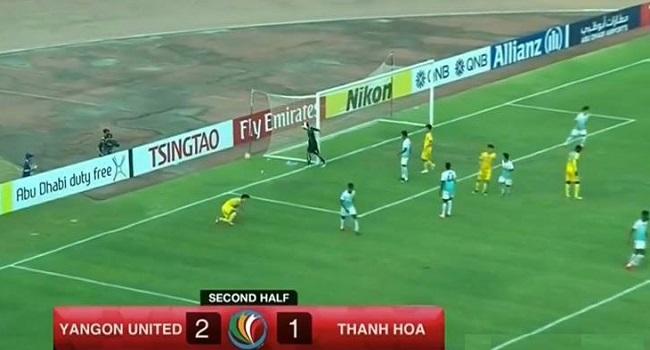 Video bàn thắng Yangon United vs FLC Thanh Hóa: Thua ngược trên đất Myanmar
