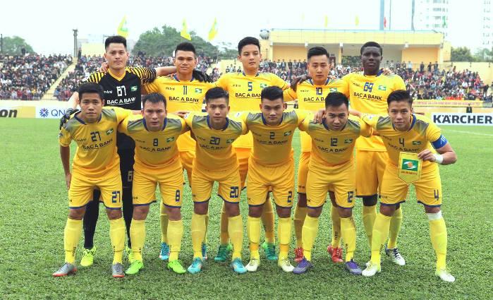 Danh sách cầu thủ đội SLNA tham dự V-League 2018
