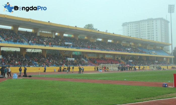 Sân Hàng Đẫy đứng trước nguy cơ quá tải ở mùa giải 2018