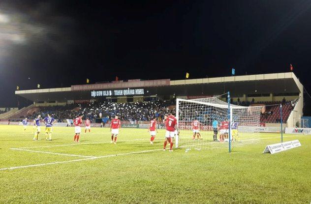Sân vận động Cẩm Phả: Chảo lửa của Than Quảng Ninh tại V.League