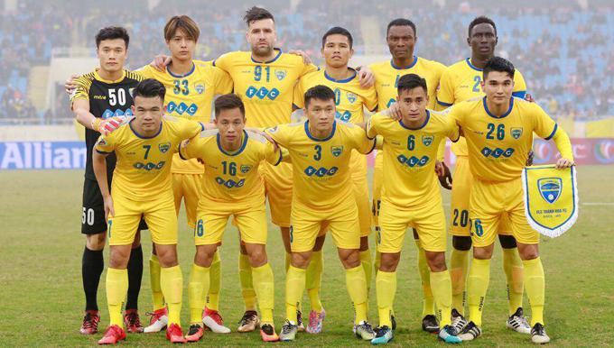 Lịch thi đấu lượt đi V-League 2018 của FLC Thanh Hóa