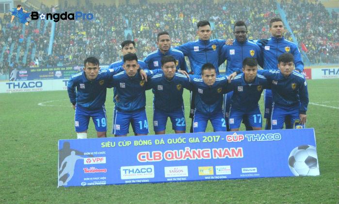 Danh sách cầu thủ Quảng Nam FC tham dự V-League 2018