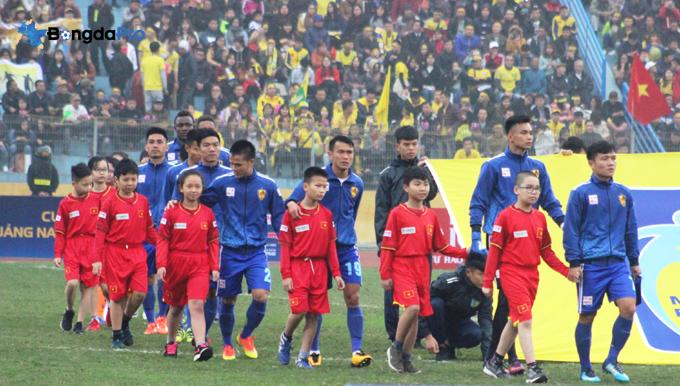 Lịch thi đấu lượt đi V-League 2018 của CLB Quảng Nam