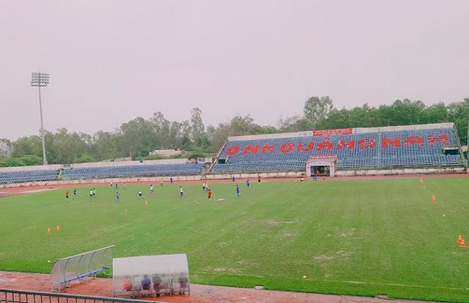 Sân vận động Tam Kỳ: Nơi chứng kiến lịch sử Quảng Nam tại V.League