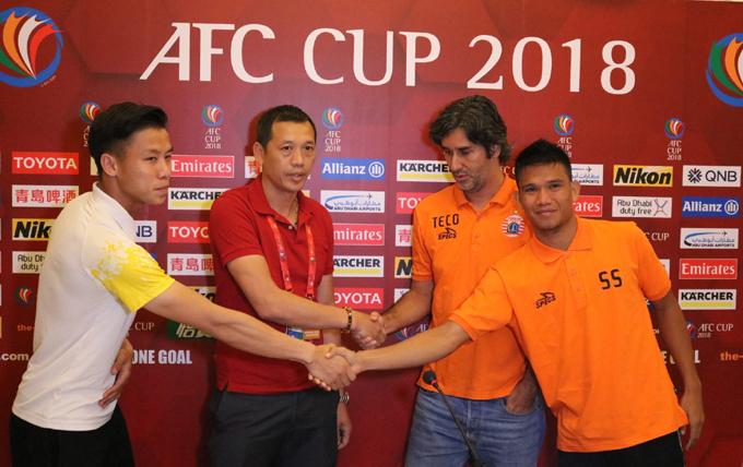 Lịch thi đấu SLNA vs Persija, vòng bảng AFC Cup 2018