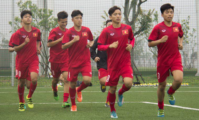Lịch thi đấu của U16 Việt Nam tại giải Quốc tế Nhật Bản - ASEAN 2018