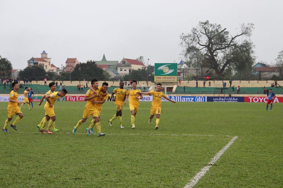 Trận SLNA vs Persija Jakarta miễn phí vé trên sân Vinh