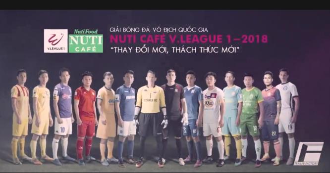 Trailer chính thức V-League 2018: Chất như phim hành động