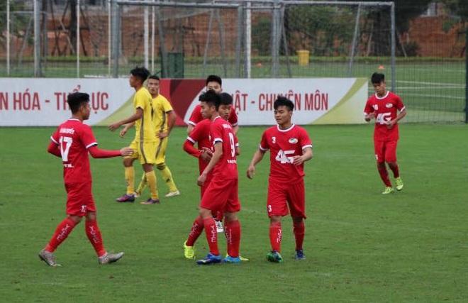 Trực tiếp U19 SLNA vs U19 Viettel, 17h15 ngày 7/3 (bảng B - VCK U19 QG 2018)