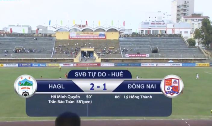 Kết quả U19 HAGL 2-1 U19 Đồng Nai: Sao trẻ tỏa sáng, thầy trò Graechen khởi đầu thuận lợi