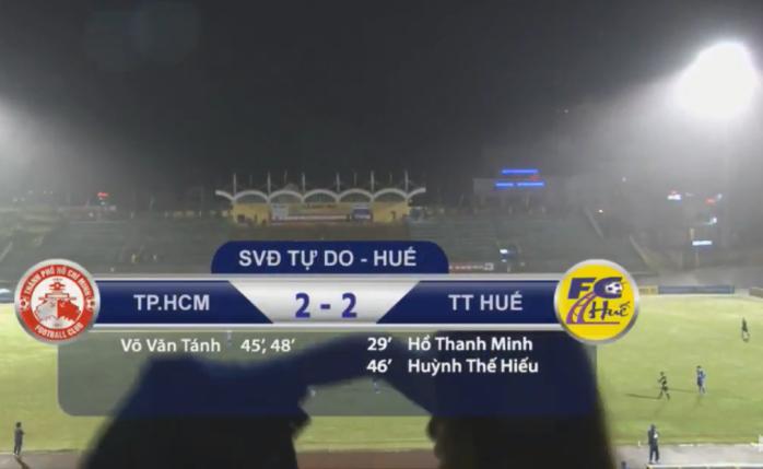 Kết quả U19 Huế vs U19 TP.HCM (FT 2-2): Rượt  đuổi ngoạn mục, mãn nhãn người xem