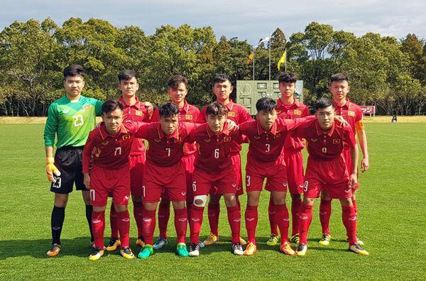 Kết quả U16 Việt Nam vs U16 Lào (Giải U16 Quốc tế Nhật Bản ASEAN 2018)