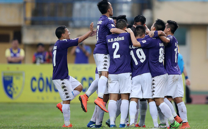 Trực tiếp Hà Nội FC vs Hải Phòng trên kênh nào?