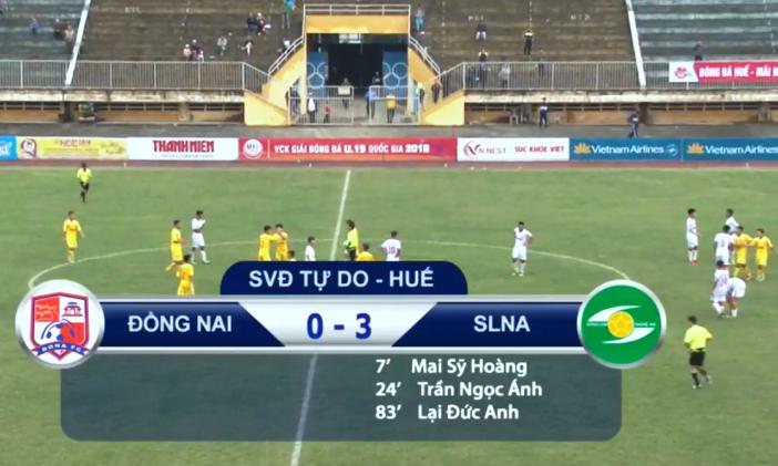 Kết quả U19 SLNA vs U19 Đồng Nai (FT 3-0): Đội bóng xứ Nghệ thắp sáng hy vọng đi tiếp
