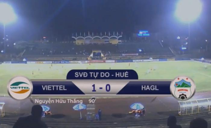 Kết quả U19 Viettel vs U19 HAGL (FT 1-0): Hậu duệ Thể Công giành vé bán kết đầu tiên