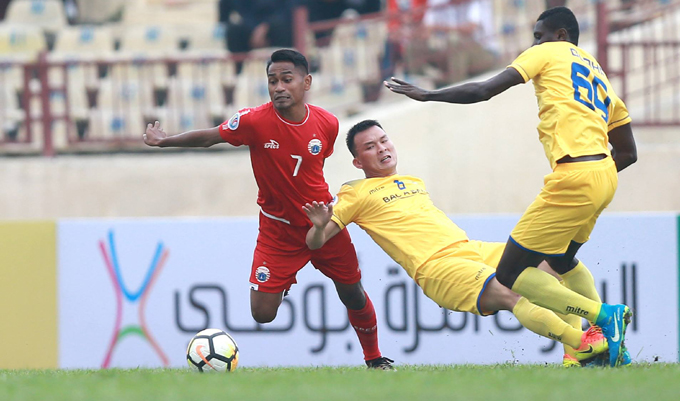Lịch thi đấu AFC Cup 2018 hôm nay 14/3: Persija Jakarta vs SLNA