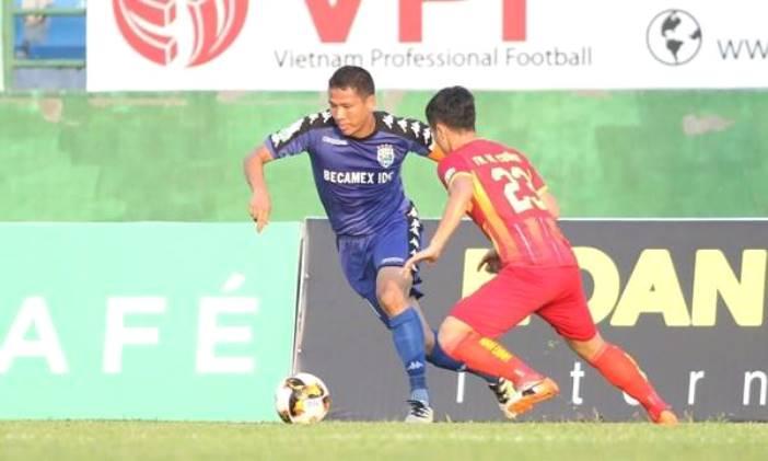 Video bàn thắng B.Bình Dương vs Nam Định, Vòng 2 V-League 2018