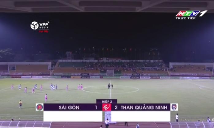 Kết quả Sài Gòn FC vs Than Quảng Ninh (FT 1-2): Ngược dòng ngoạn mục, Than Quảng Ninh giữ mạch toàn thắng