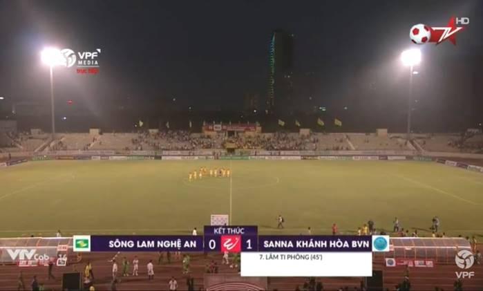 Kết quả SLNA vs Sanna Khánh Hòa (FT 0-1): Sao U23 im tiếng, xứ Nghệ trắng tay ngày ra quân