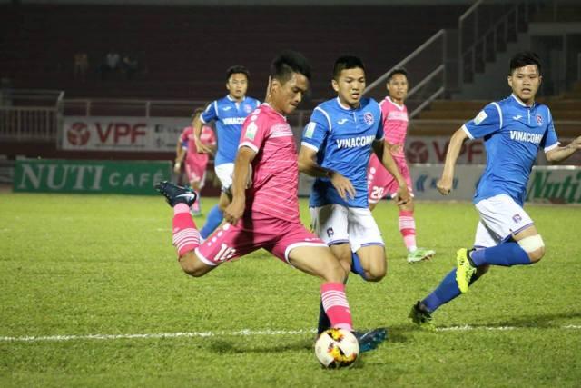 Video bàn thắng Sài Gòn FC vs Than Quảng Ninh - vòng 2 V-League 2018