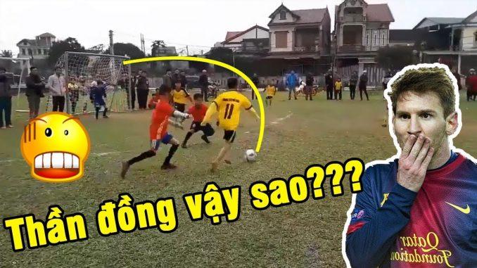[Video Cậu bé ma thuật] 'Tiểu Neymar' Phố Châu đảo chân như kẹo lạc: Sẽ đầu quân cho đội bóng trứ danh xứ Nghệ?.,