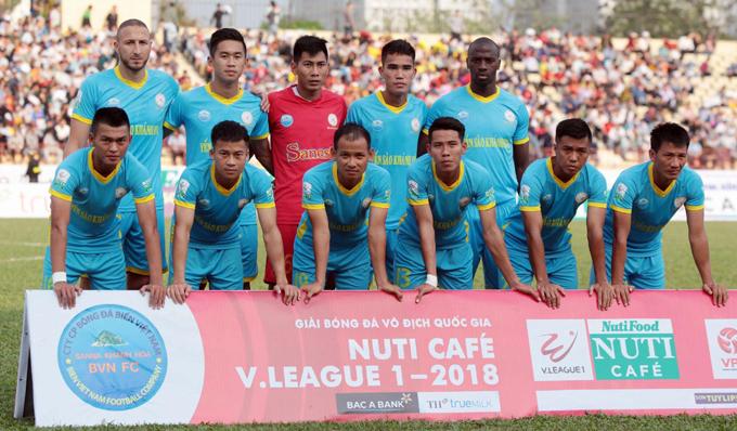Sanna Khánh Hòa công bố giá vé sân 19-8 (sân Nha Trang) ở V League 2018