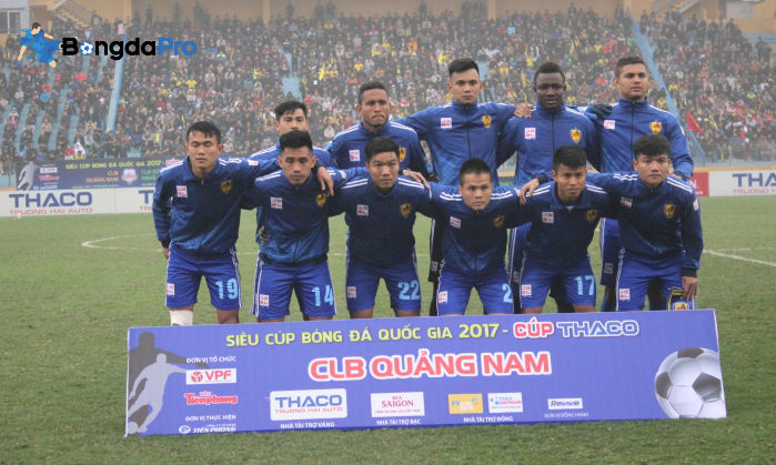 TRỰC TIẾP Quảng Nam FC vs FLC Thanh Hóa, 17h00 ngày 22/3, vòng 3 V-League 2018