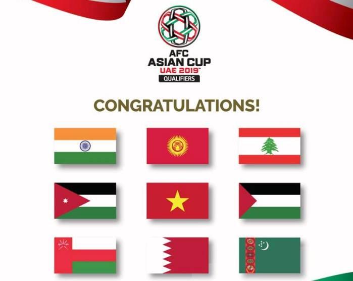 Danh sách các đội dự Asian Cup 2019: Đông Nam Á có ít nhất 2 đại diện