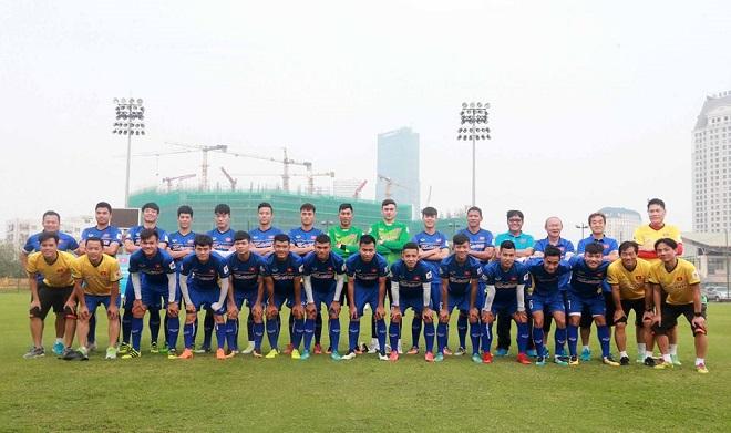 ĐT Việt Nam tập trung chuẩn bị đấu Jordan - Vòng loại Asian Cup 2019