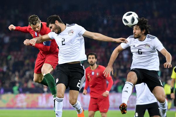 Kết quả Bồ Đào Nha vs Ai Cập: Ronaldo lập cú đúp trong chớp mắt