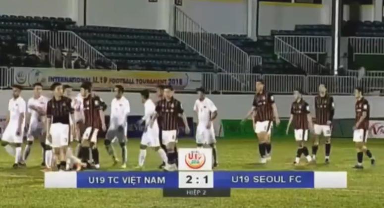 Kết quả U19 Việt Nam vs U19 Seoul (FT 2-1): Chiến thắng nghẹt thở